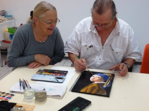 Alain et Micheline Bartos