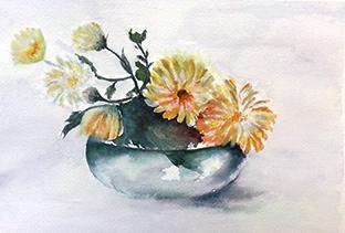 Anne-Marie MOLLA : aquarelle